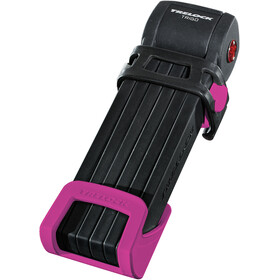 Trelock FS 300 Trigo Folding Lock incl. holder pink
